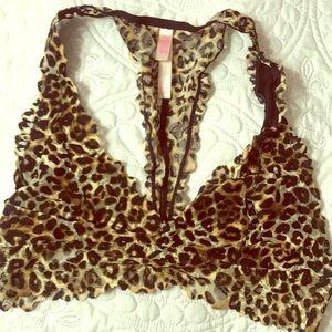 Leopard Victoria's Secret PINK bralette